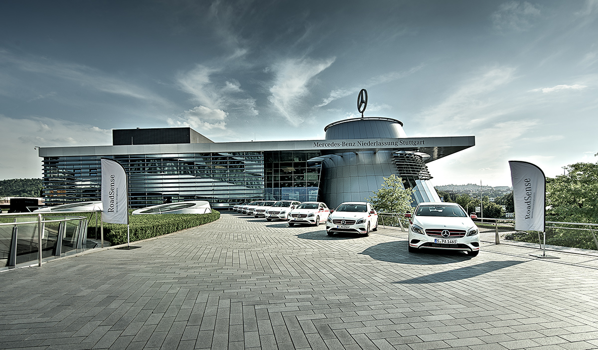 Architekturfotografie-Mercedes-Benz