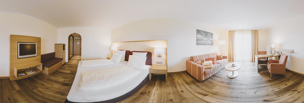 Hotelzimmer-Panorama