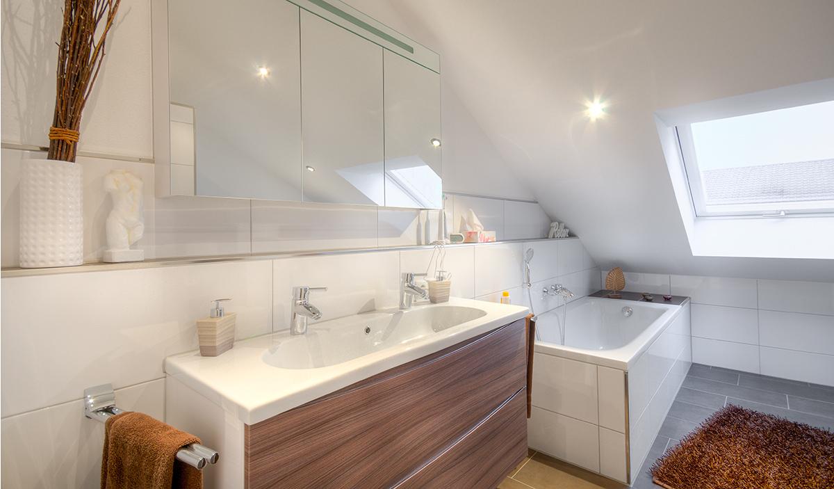 Immobilienfotografie-Badezimmer