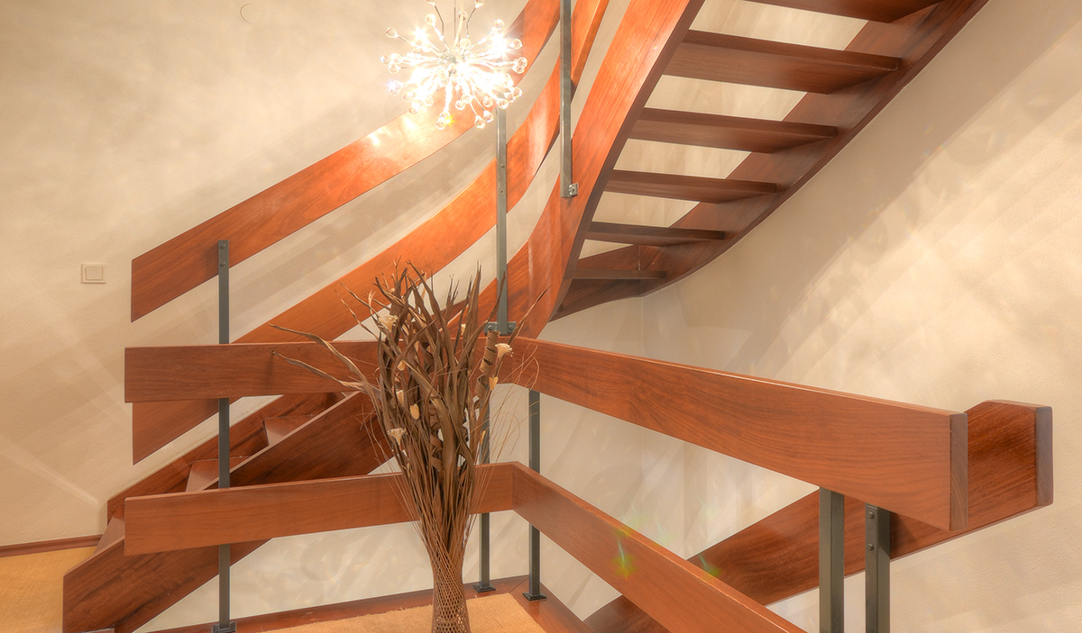 Immobilienfotografie-Treppenhaus