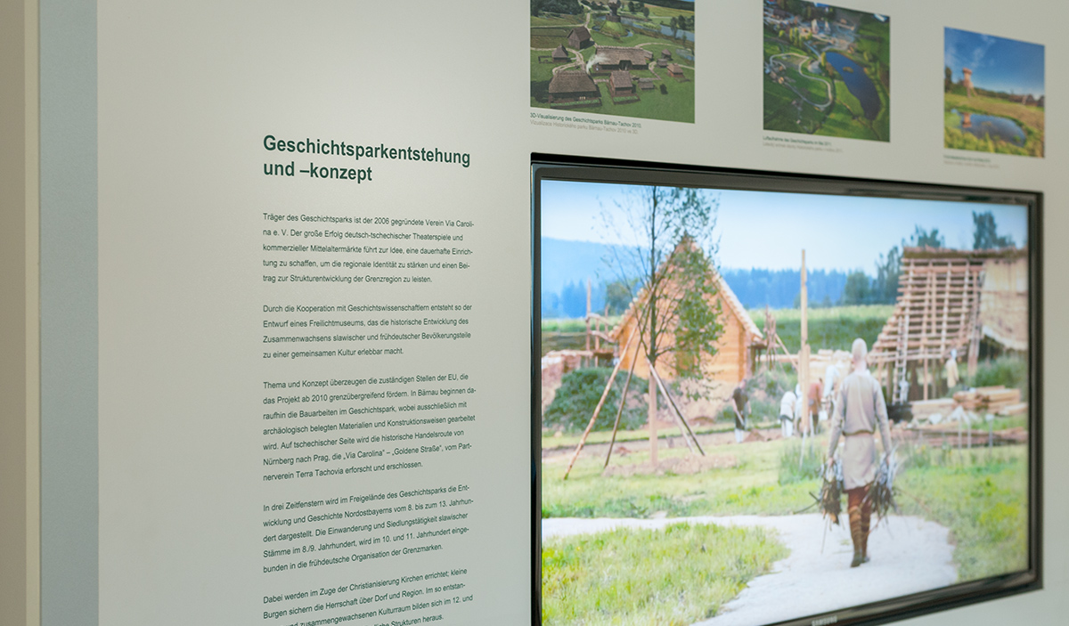 Museumsfotografie-Infotafel