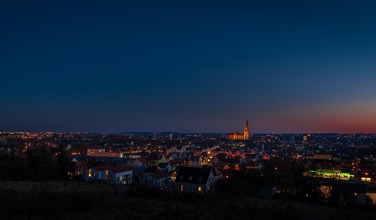 Tourismusfotografie-Regensburg-Nachtansicht