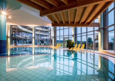 Blaue-Stunde-Schwimmbad
