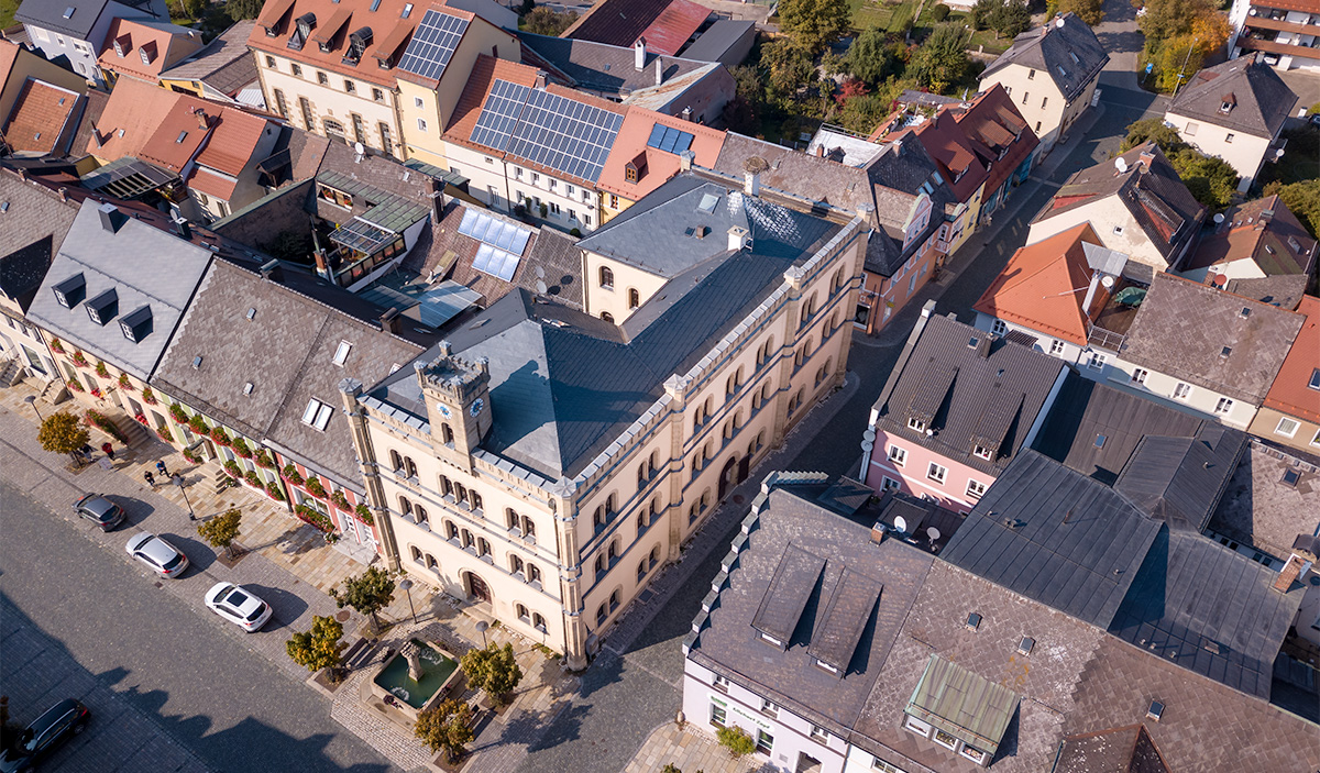 Luftbildaufnahme-Altstadt